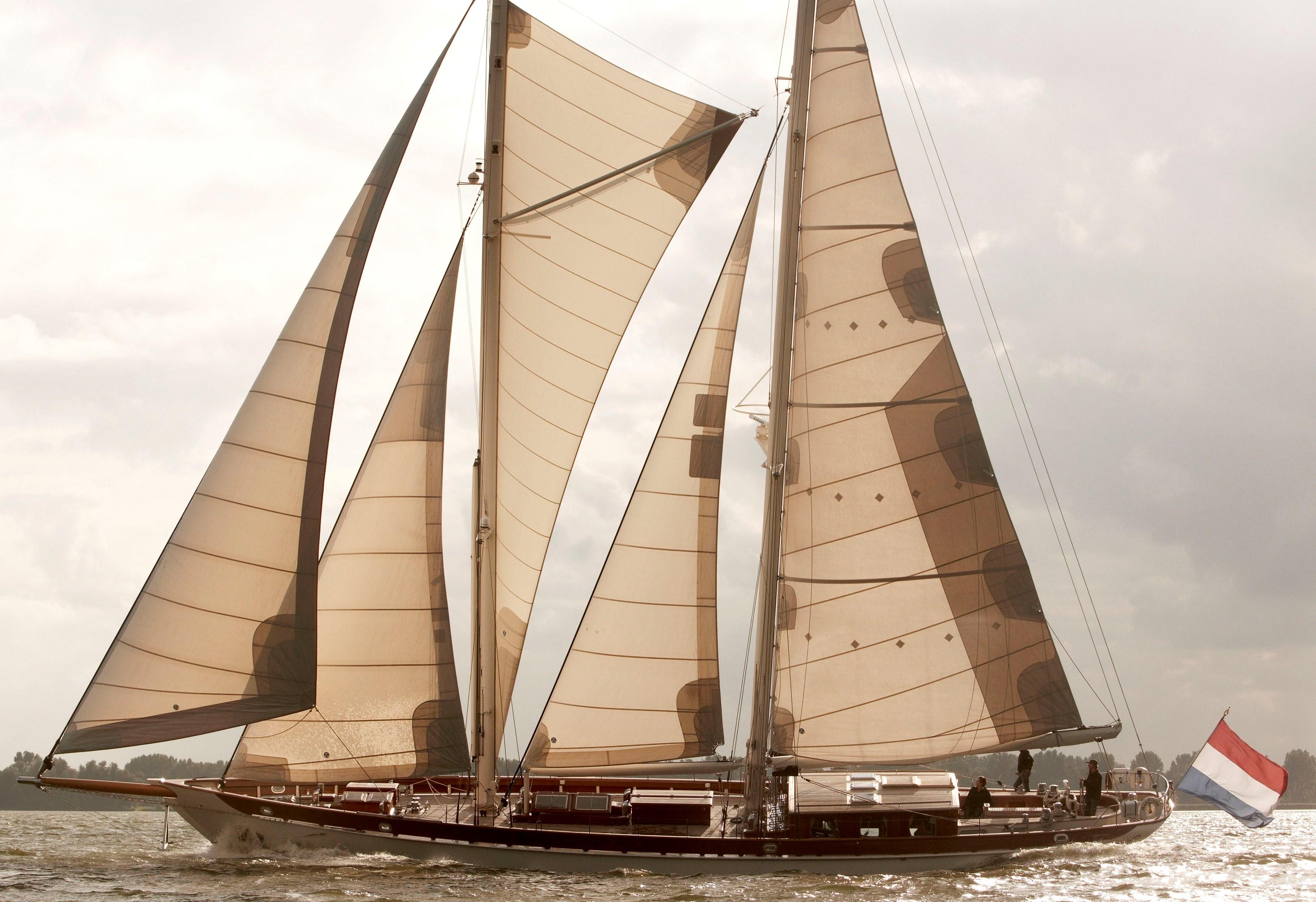 Nirvana Mandarine mast boom rigging